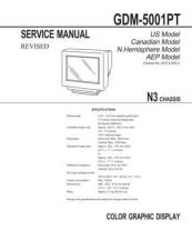 Buy SONY GDM-5001PT Service Manual by download #166872
