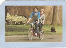 Buy DC Washington Sport Bicycle Nancy Reagan & Ron Reagan Jr Riding A Bicycle ~346
