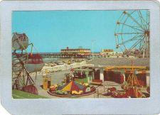 Buy FL Daytona Beach Amusement Park Postcard Beach Park w/Rides Ferris Wheel t~86