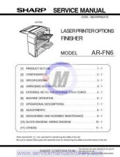 Buy Sharp ARFN6 SM GB(1) Manual by download #179631