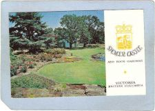 Buy CAN Victoria Postcard Spencer Castle & Rock Gardens can_box1~252