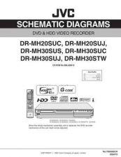 Buy JVC DR-MH30SUS sch Service Schematics by download #155499
