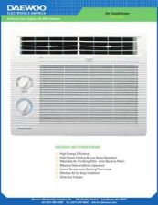 Buy Daewoo DWC121R AIR CON Manual by download Mauritron #184258