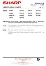 Buy Sharp VCA55HM-002 Service Schematics by download #158393
