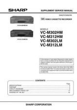 Buy SHARP VCM301HM-003 Service Data by download #133950