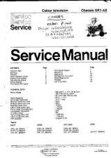 Buy PHILIPS 22AV1160-48S Service Manual by download #156957