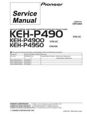 Buy PIONEER C2404 Service Data by download #152613