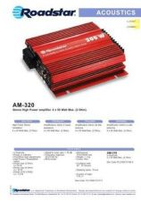 Buy ROADSTAR AM-320 by download #127853