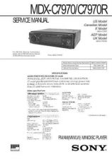 Buy SONY MDX C7970 CDC-1409 by download #159587