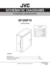 Buy JVC SP-DWF10J sch Service Manual by download #156515