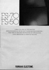 Buy Yamaha FS70E Operating Guide by download Mauritron #203714