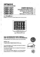 Buy Sanyo CM812ET IT Manual by download #173625