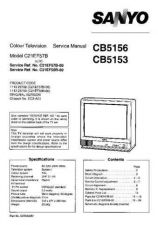 Buy Sanyo CB5156 SM-Onl Manual by download #171305
