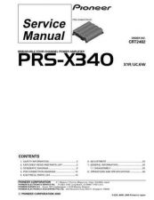 Buy PIONEER C2482 Service Data by download #152651