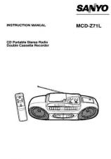 Buy Sanyo MCD-Z330L Operating Guide by download #169393