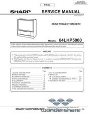 Buy Sharp 64LHP5SM Manual.pdf_page_1 by download #178784