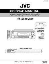 Buy JVC RX-5022VSL I Service Manual by download #156466