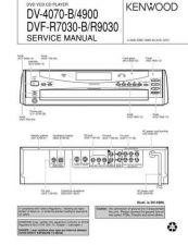 Buy KENWOOD DV-4070B 4900 DVF-R7030B R9030 Technical Info by download #148104