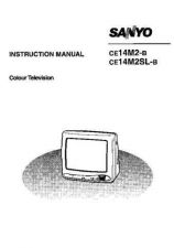 Buy Sanyo CE14M2-B Manual by download #172861