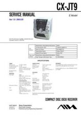Buy AIWA CX-JT9 TECHNICAL INFO by download #125258