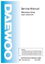 Buy Daewoo KOR-6C67 (E) Service Manual by download #155063