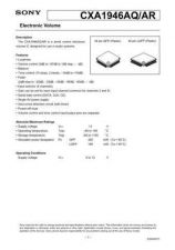Buy MODEL CXA1946 Service Information by download #124021