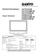 Buy Sanyo CE17LC4W-B Manual by download #172903