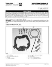 Buy SEADOO SSI9911A Service Manual by download #157776