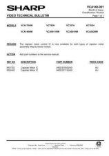 Buy Sharp VCA105HM-003 Service Schematics by download #158007