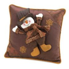 Buy Happy Snowman Pillow
