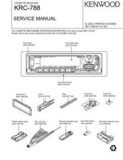 Buy KENWOOD KRC-767D Technical Info by download #148240