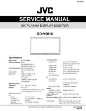 Buy JVC GD-V501U Service Schematics by download #155533