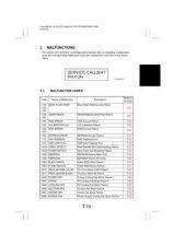 Buy Minolta MC7300 6100 MALFUNCTION CODES Service Schematics by download #138238