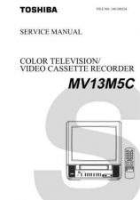 Buy TOSHIBA MV13M5C SVCMAN Service Schematics by download #160230