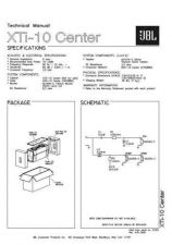 Buy INFINITY XTI 10 CENTER TM Service Manual by download #151744
