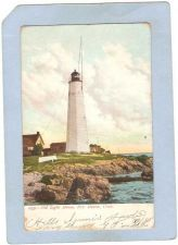 Buy CT New Haven Lighthouse Postcard New Haven Lighthouse UDB lighthouse_box1,~101