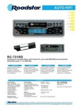 Buy ROADSTAR RC-731RD by download #128386