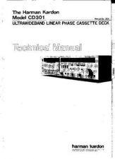 Buy Harman Kardon CD301 SM Manual by download Mauritron #185619
