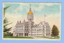 Buy CT Hartford State Capitol View Of Capitol Building ct_album, ct_box8, ~477