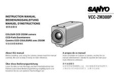 Buy Sanyo VCC-9400P Ver1 Operating Guide by download #169621