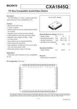 Buy MODEL CXA1845 Service Information by download #124012