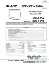 Buy Sharp 36UF510 MODEL Manual.pdf_page_1 by download #178366