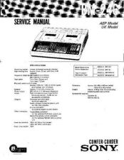 Buy SONY BM-246 Service Manual by download #166313