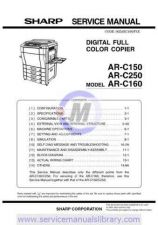 Buy Sharp ARC170M SM GB(1) Manual by download #179512