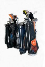 Buy Large Golf Bag Rack