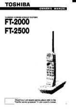 Buy Toshiba FT6003 2 Manual by download #172063