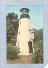 Buy DE Rehoboth Beach Lighthouse Postcard Replica of Henlopen Light House ligh~111