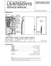 Buy KENWOOD LS-N753 DV10 Technical Info by download #148293