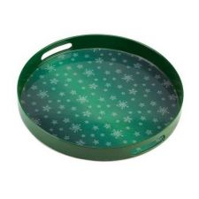 Buy Snowflakes Falling Christmas Tray