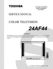 Buy TOSHIBA 24AF44SUMREV1 Service Schematics by download #159757